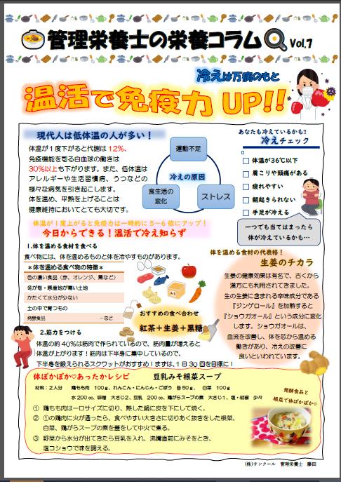 栄養コラム2021.1